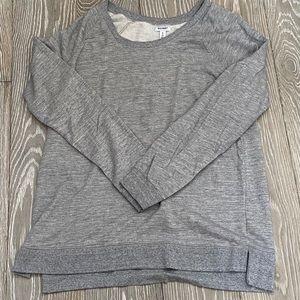 Old Navy Gray Sweatshirt Dress